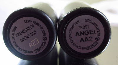 MAC Angel vs Creme Cup — Lipstick Review and Swatches