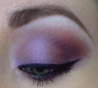 MAC: BRIGHT PURPLE LOOK