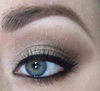 NEUTRAL LOOK WITH NAKED2 PALETTE!