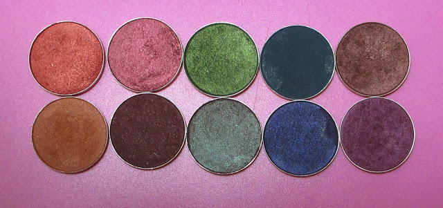 Top 10 MAC Eyeshadows for Fall