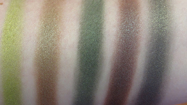 TOP 5 GREEN MAC EYESHADOWS