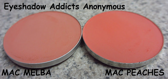 MAC MELBA VS PEACHES — Blush Review and Swatches